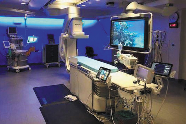 St. Vincent's Expands and Upgrades Cath Labs Features New FlexArm Imaging | Ascension St. Vincent's; Ascension St. Vincent's East; cardiac catheterization, cath lab, interventional cardiology, Flex C Arm, David E. Cox, MD; Cardiology Specialists of Birmingham; Philips Azurion with FlexArm