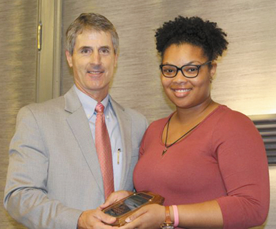 Teen Volunteer from Citizens Baptist Receives Top Honor